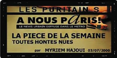 A nous Paris ! | Myriem Hajoui | Attention : choc frontal !