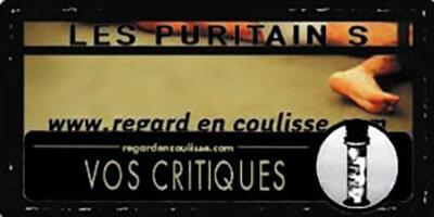 regardencoulisse.com | Vos critiques | Les Puritains