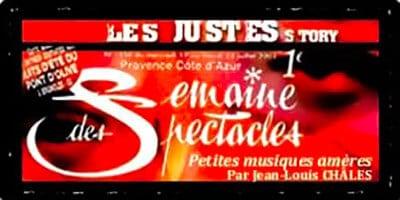Semaine des spectacles | Jean-Louis Châles | Petites musiques amères