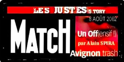 Paris-Match | Alain Spira | Avignon trash
