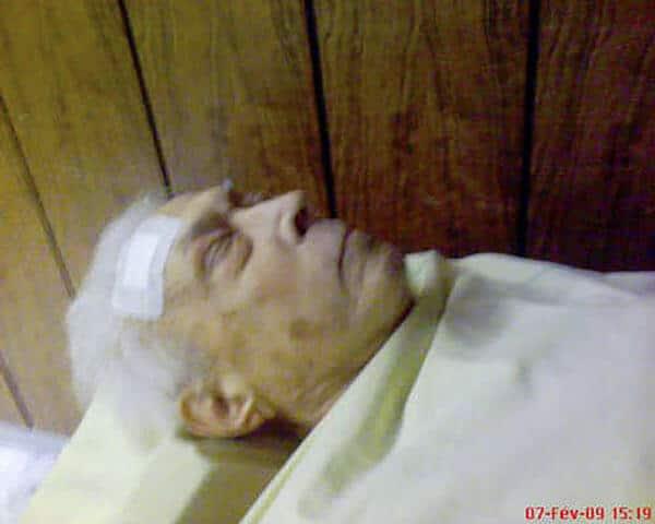 Mon père mort © David Noir 2009