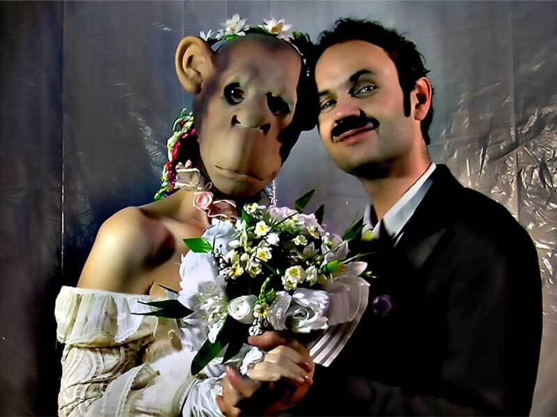 Mariage d'Any Tingay et Philippe Savoir | « Norme animale » | Microfilms | Définitives Créatures | David Noir | Capture d'écran © David Noir