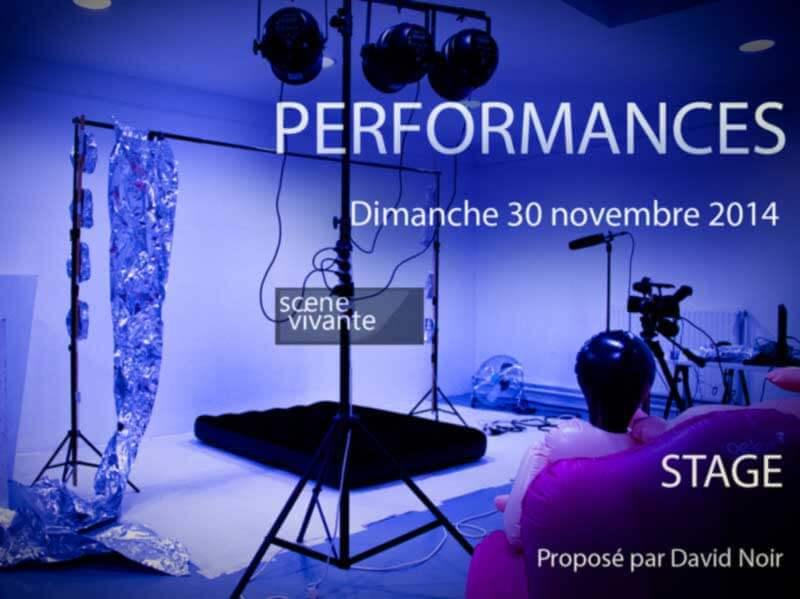 """Stage Scène Vivante   """"Performances""""  Photo © David Noir"""