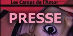"""Presse à propos de """"Les camps de l'Amor"""" de David Noir"""