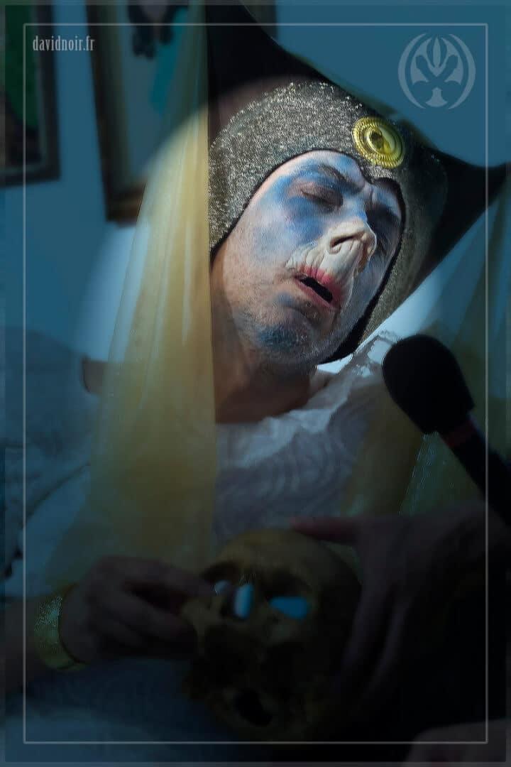 Homlet | Incarnations et métamorphoses | Autoportrait © David Noir