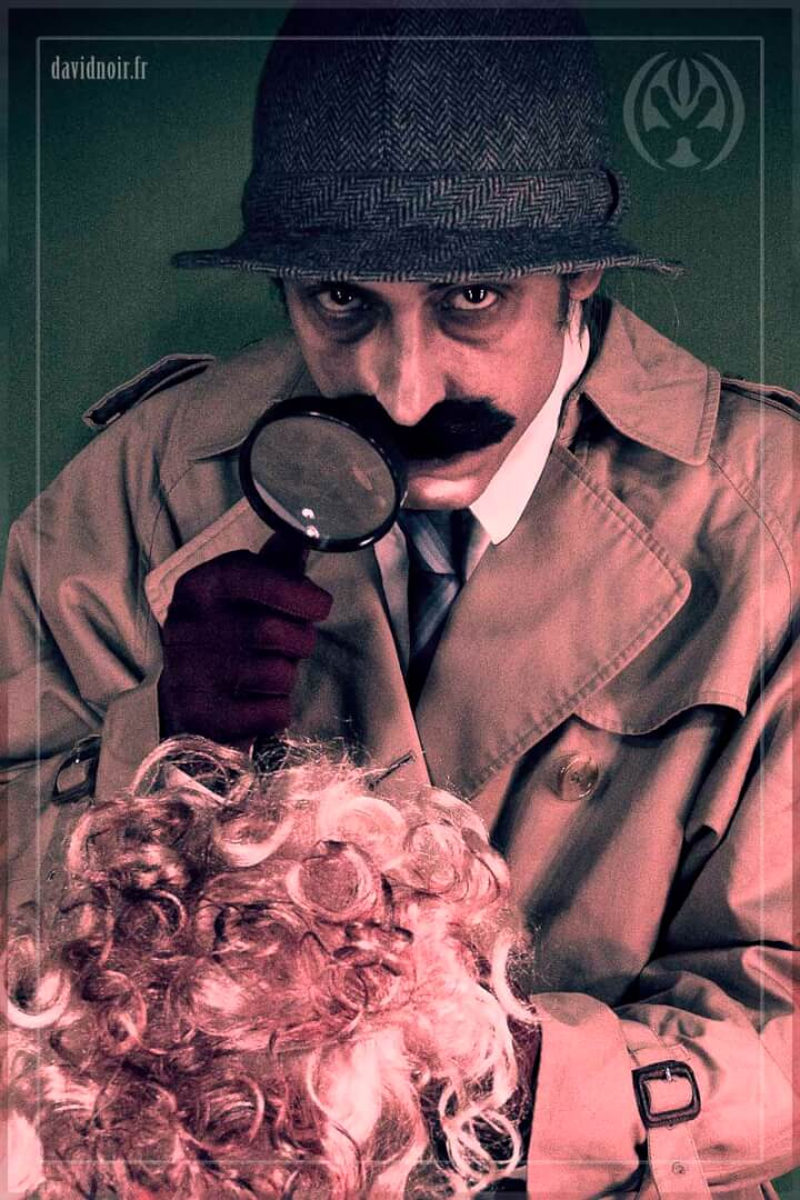 Chief inspector Clouseau | Incarnations et métamorphoses | Autoportrait © David Noir