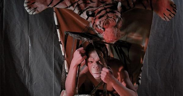 David Noir | La peau sur les zoos | Un singe au Musée de la Chasse | Capture d'écran © David Noir 2017