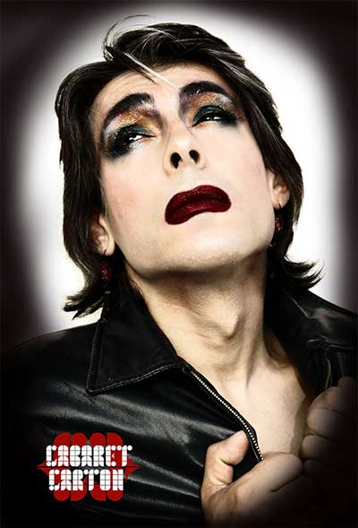 David Noir | Cabaret Carton de Sophie Renauld | Photo © Philippe Savoir