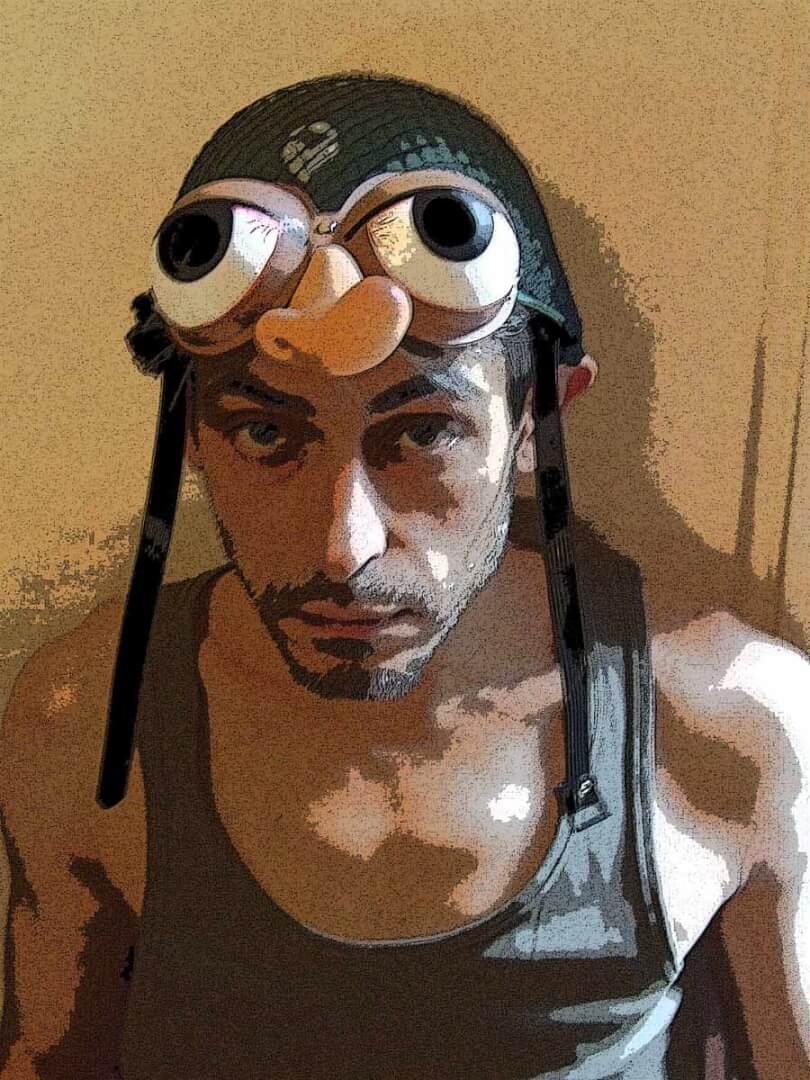 Les solos de JaZon | Autoportrait © David Noir | 2008