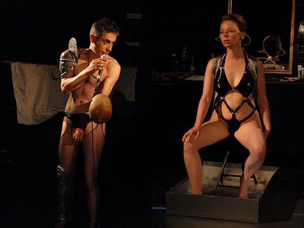 Valérie Brancq, David Noir | La Toison Dort | Épisode 8 | Images d'une relation: On rit ! On rit ! On rit ! | Photos © Karine Lhémon