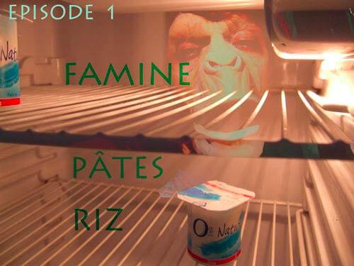 La Toison Dort | Épisode 1 | Famine Pâtes Riz | Visuel © David Noir
