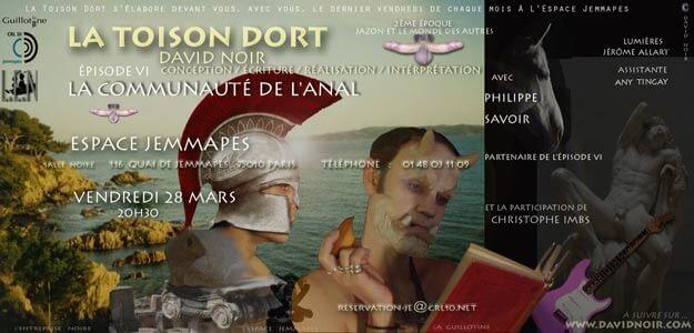 La Toison Dort | Épisode 6 | La communauté de l'anal | Visuel © David Noir