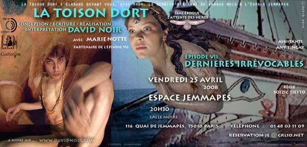 La Toison Dort | Épisode 7 | Éjaculations irrévocables | Visuel © David Noir