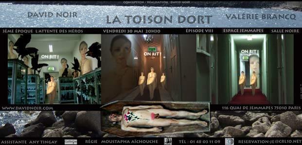 La Toison Dort | Épisode 8 | Images d'une relation: On rit ! On rit ! On rit ! | Visuel © David Noir