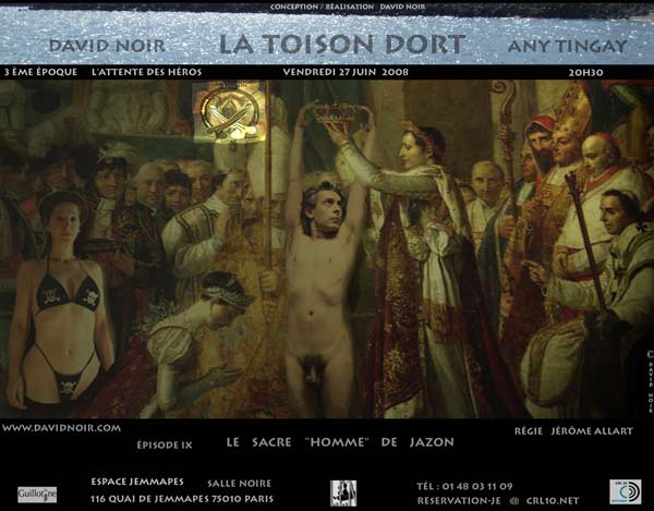 La Toison Dort   Épisode 9   Le sacre Homme de JaZon   Visuel © David Noir
