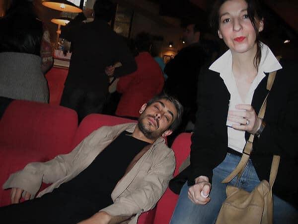 David Noir et Any Tingay | Gode Blesse Me | Une sodomie en place publique | Photo © Valérie Brancq | 2004