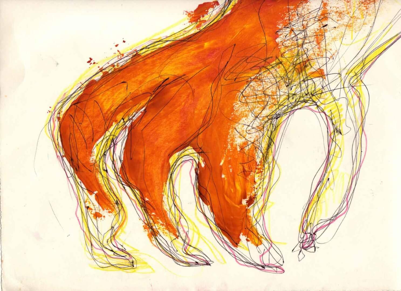 La main du diable © David Noir | Dessins, peintures, collages