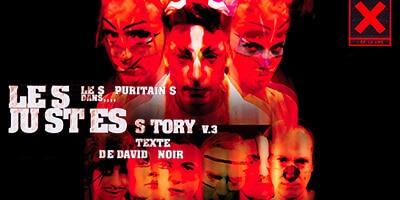 Les JUSTES-story | David Noir | Graphisme © Philippe Savoir | Photo © Karine Lhémon