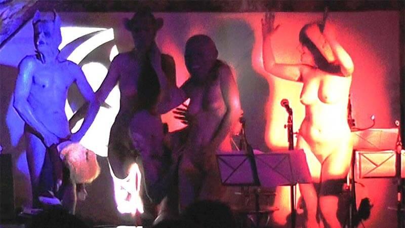De gauche à droite: David Noir, Any Tingay, Sonia Codhant, Valérie Brancq | Projet JaZon | Vie tu perds | Capture d'écran