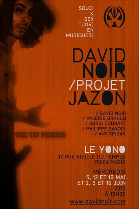 Any Tingay, Valérie Brancq, Sonia Codhant, Philippe Savoir et David Noir | Projet JaZon | Vie tu perds | Visuel © Filifox - Philippe Savoir