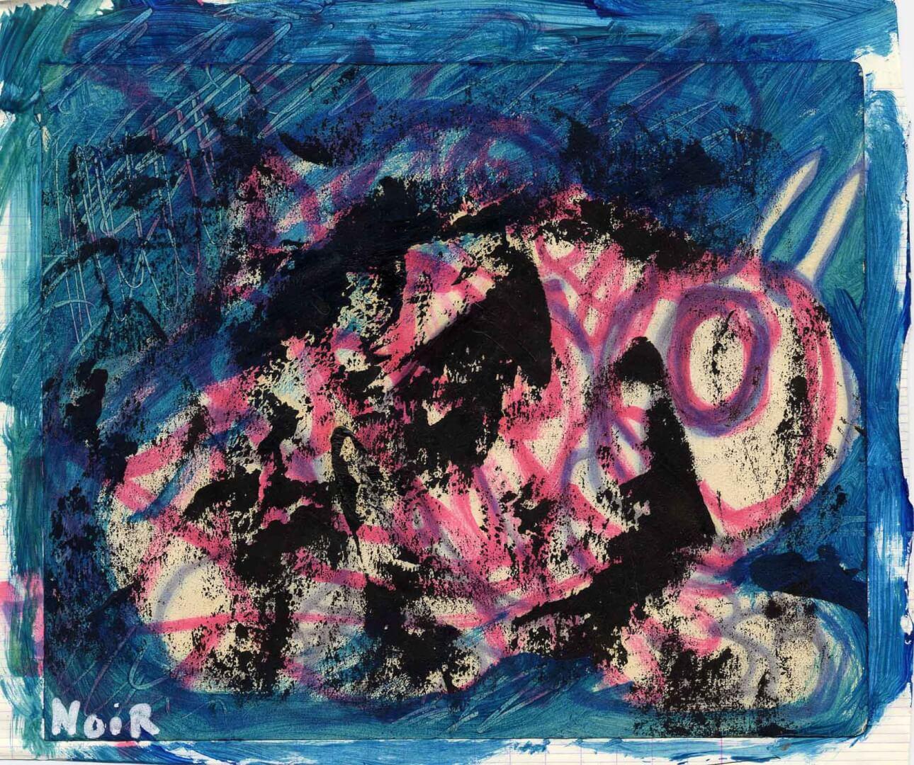 Bestiole 2 © David Noir | Dessins, peintures, collages