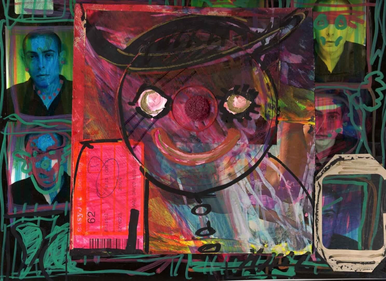 Bonhomme © David Noir | Dessins, peintures, collages