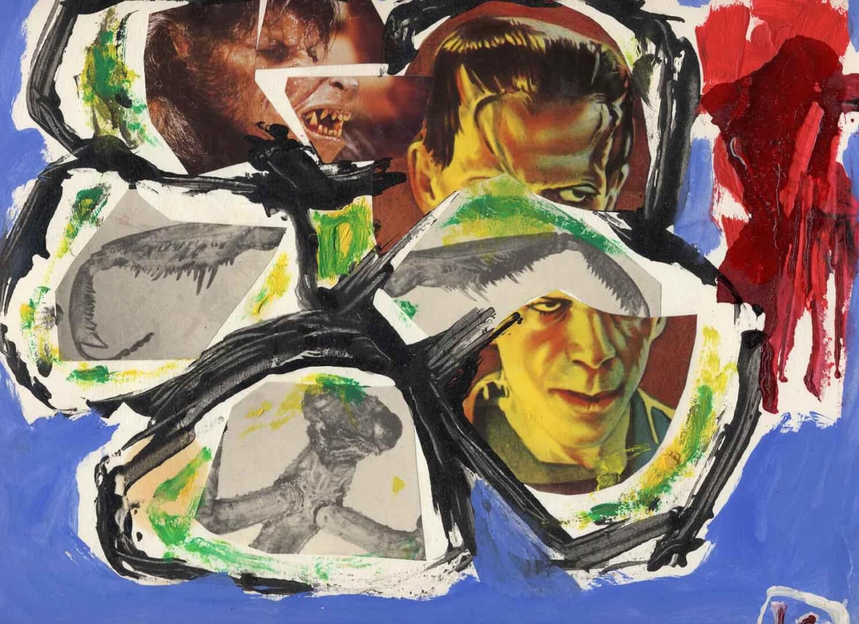 Boris et les amis © David Noir | Dessins, peintures, collages