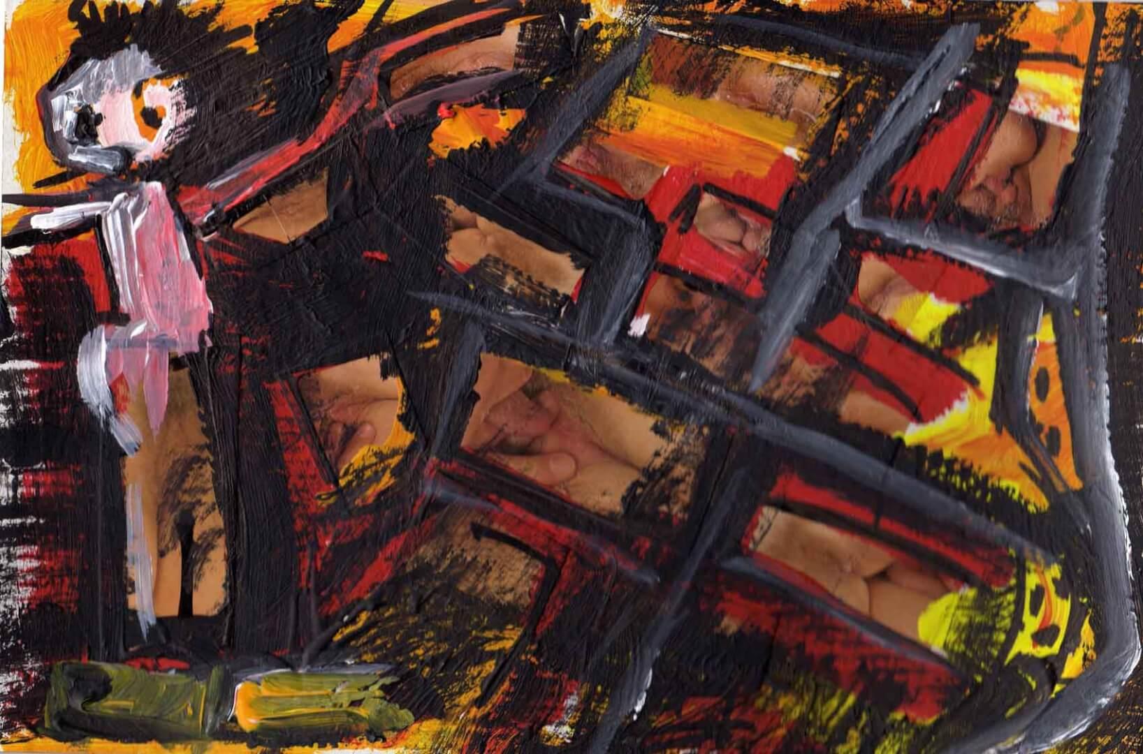 Chacun chez soi © David Noir | Dessins, peintures, collages