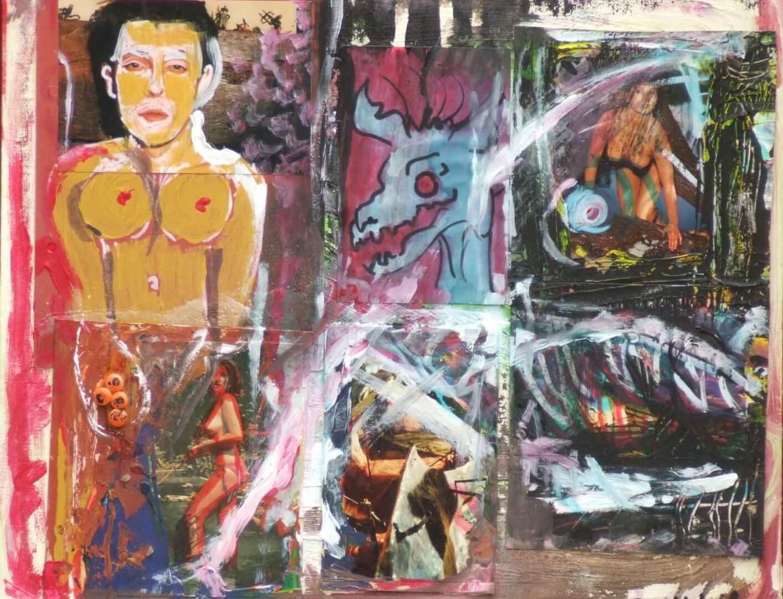Collage © David Noir | Dessins, peintures, collages