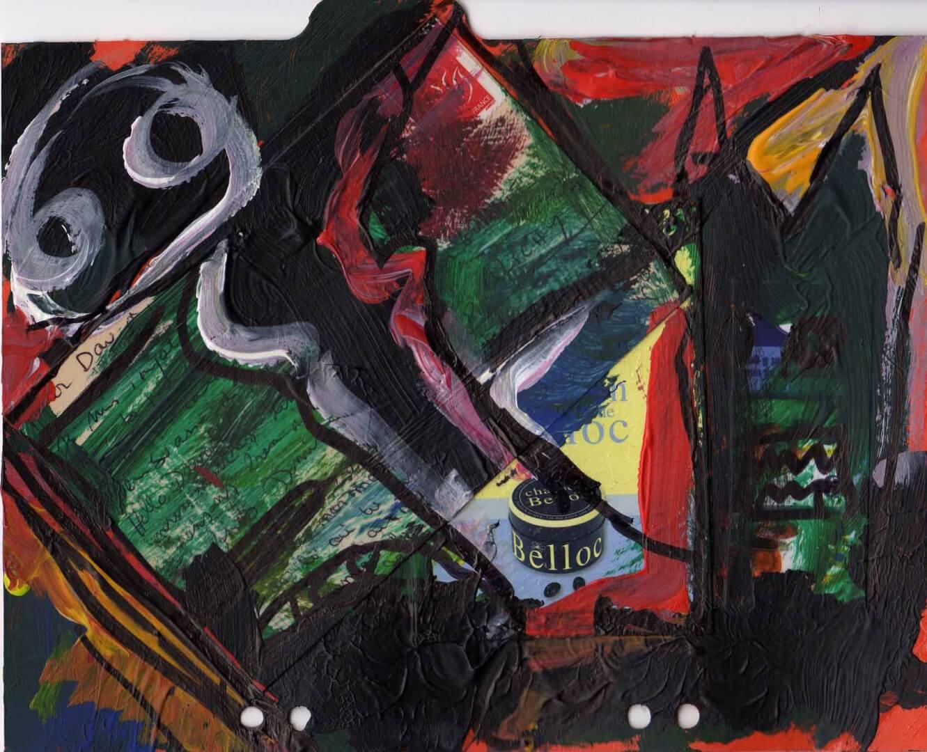 Correspondances © David Noir | Dessins, peintures, collages