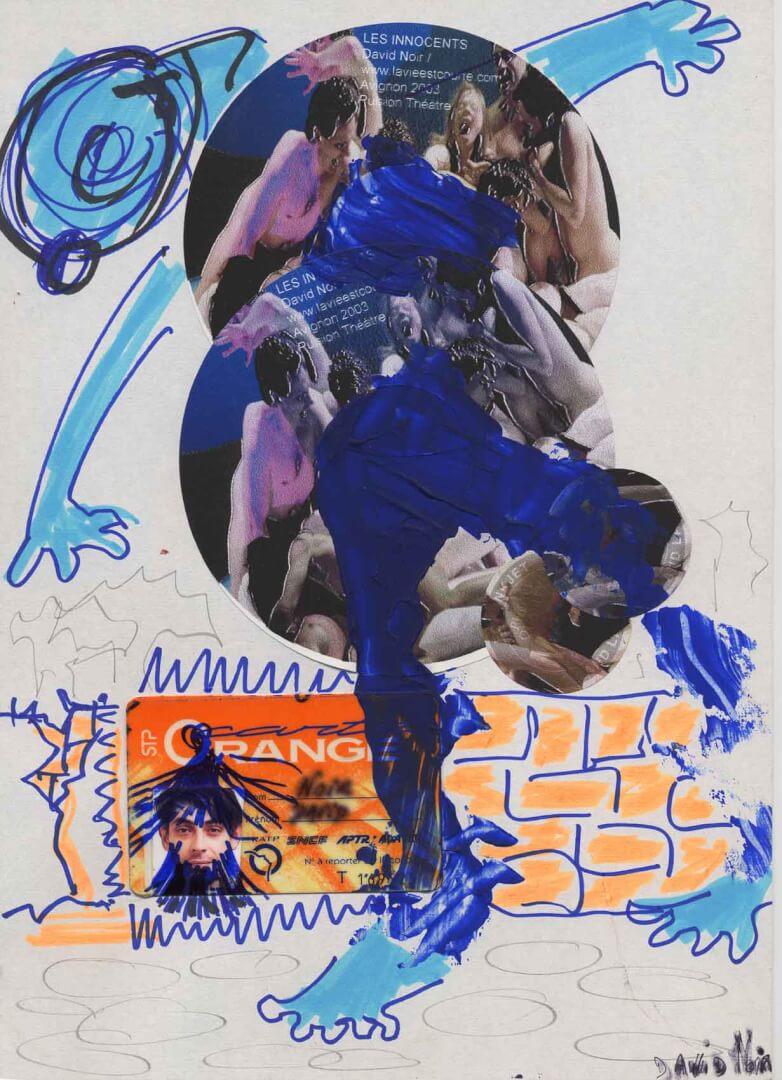 Danse un peu © David Noir | Dessins, peintures, collages