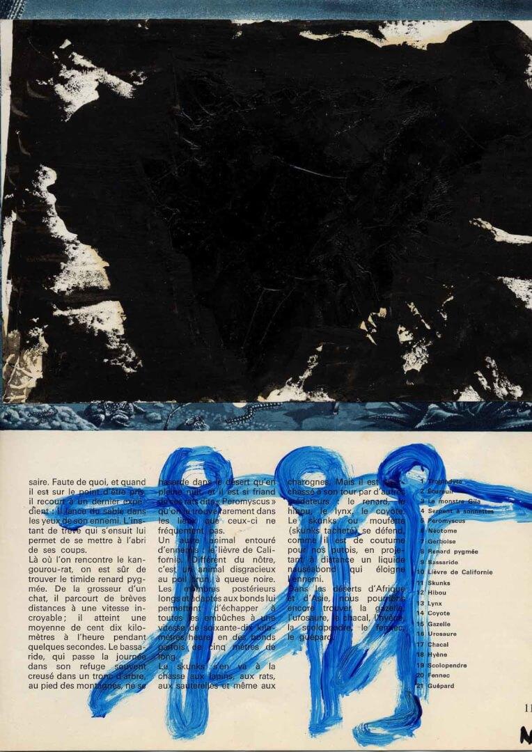 Chansons © David Noir | Dessins, peintures, collages