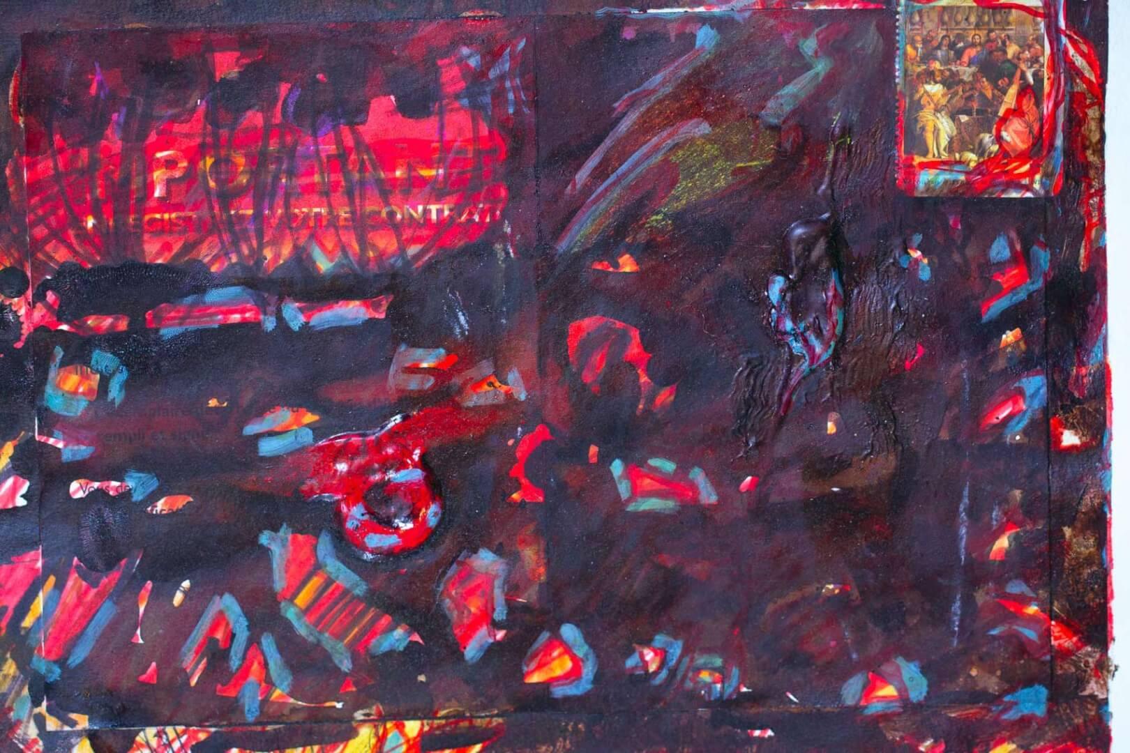 En cène © David Noir | Dessins, peintures, collages