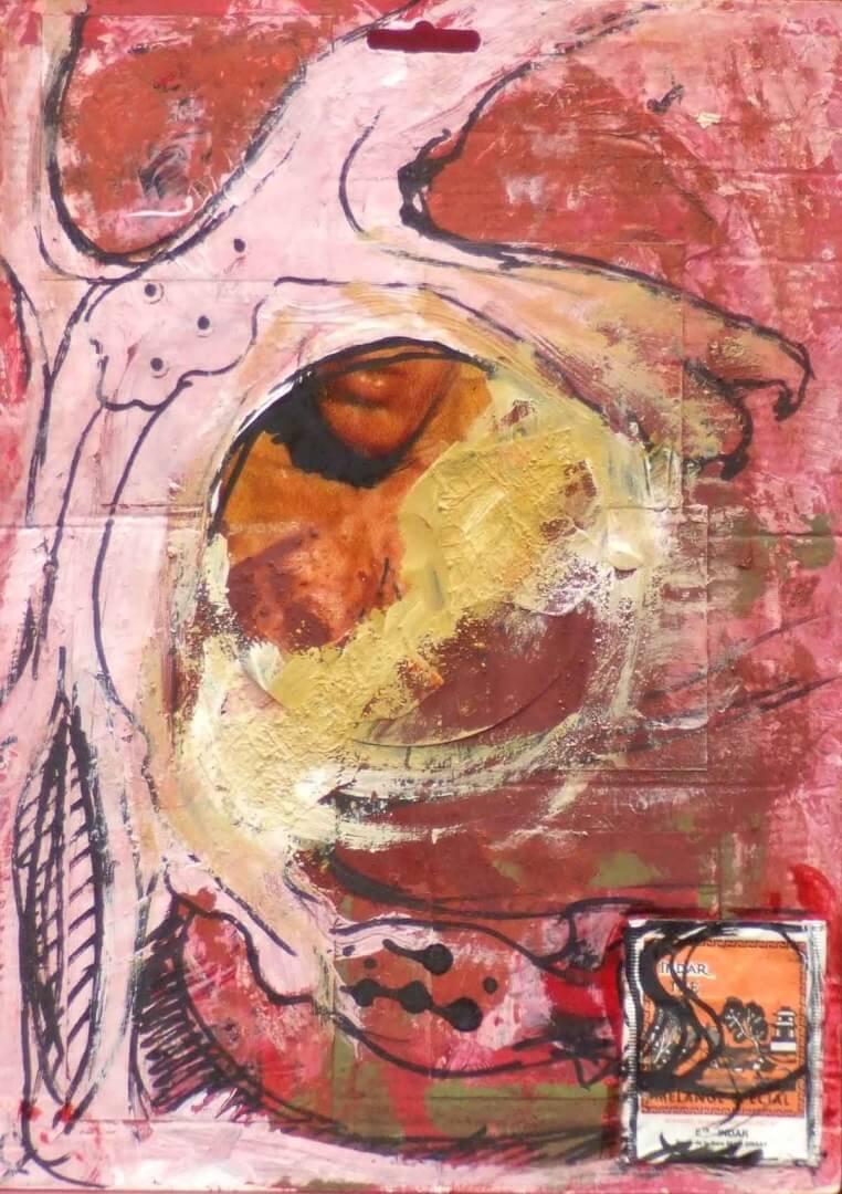 Entrelacs © David Noir | Dessins, peintures, collages