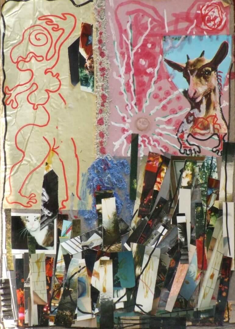 Famille Seguin © David Noir | Dessins, peintures, collages