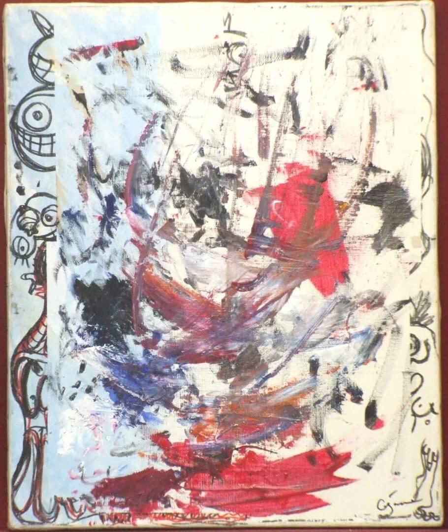 Fracas © David Noir | Dessins, peintures, collages