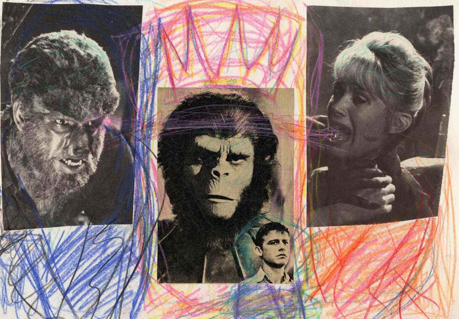 Galen, Roddy & co © David Noir | Dessins, peintures, collages
