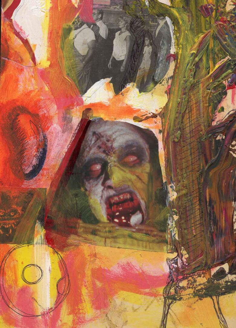 Haine 1 © David Noir | Dessins, peintures, collages