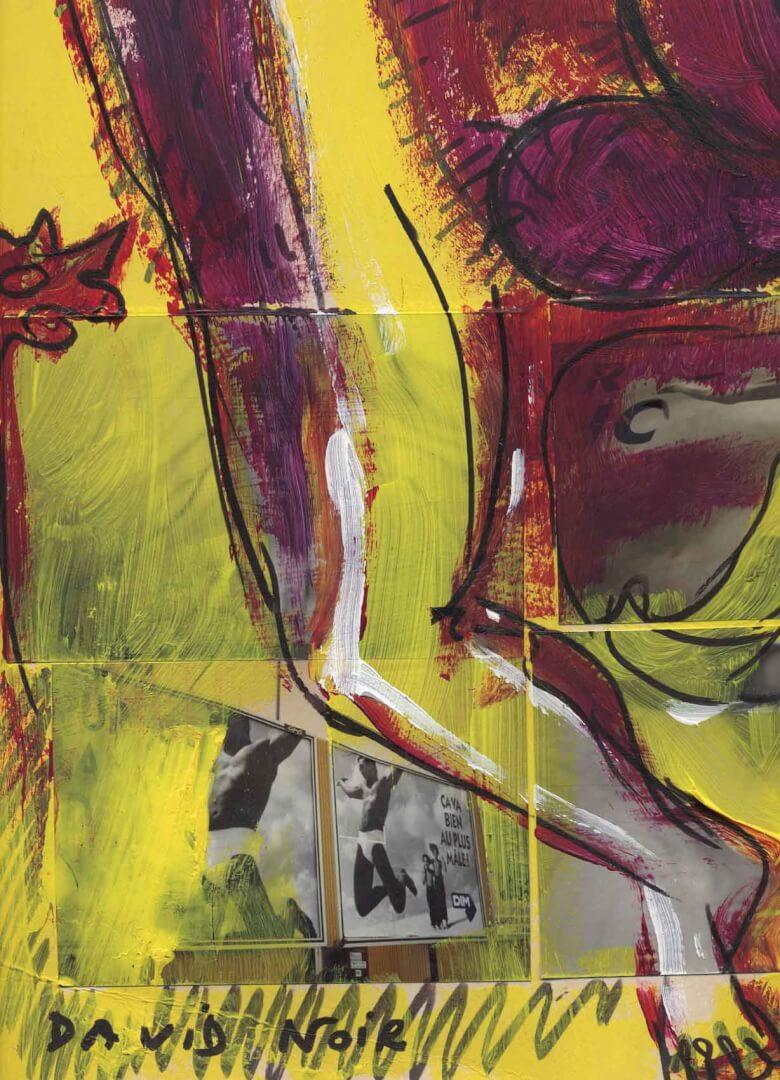 Hommes entre eux © David Noir | Dessins, peintures, collages
