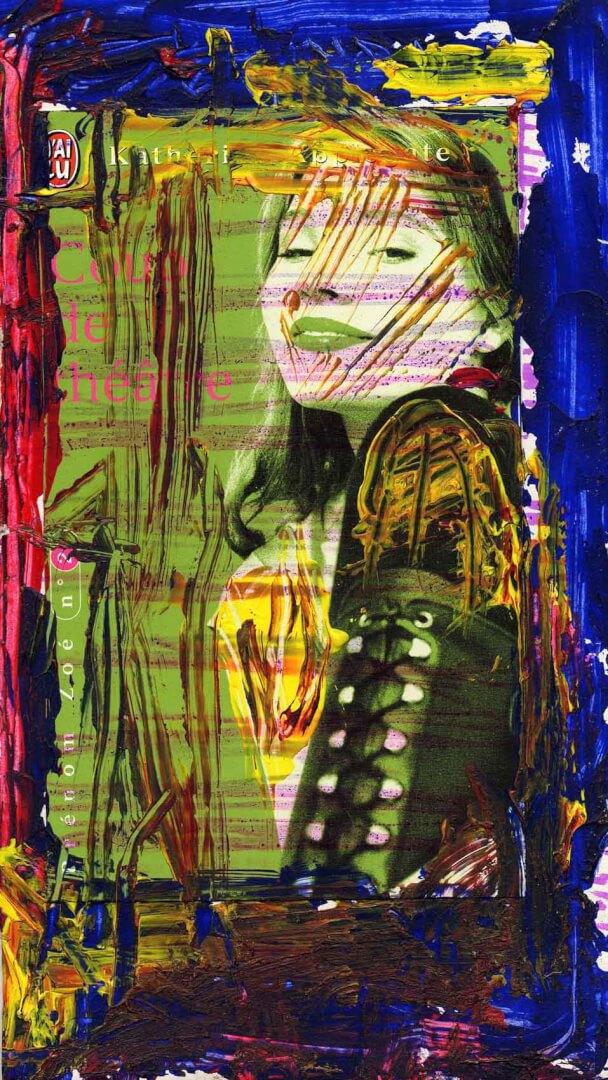 J'ai lu © David Noir | Dessins, peintures, collages