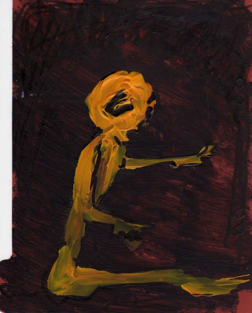 Je peins © David Noir | Dessins, peintures, collages