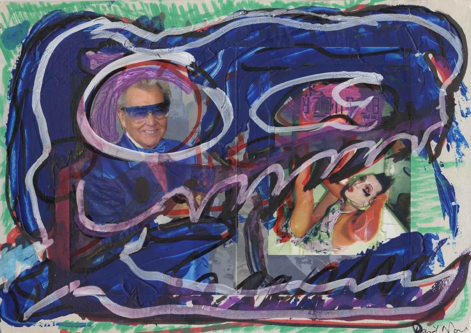 Jurassique Michou © David Noir | Dessins, peintures, collages