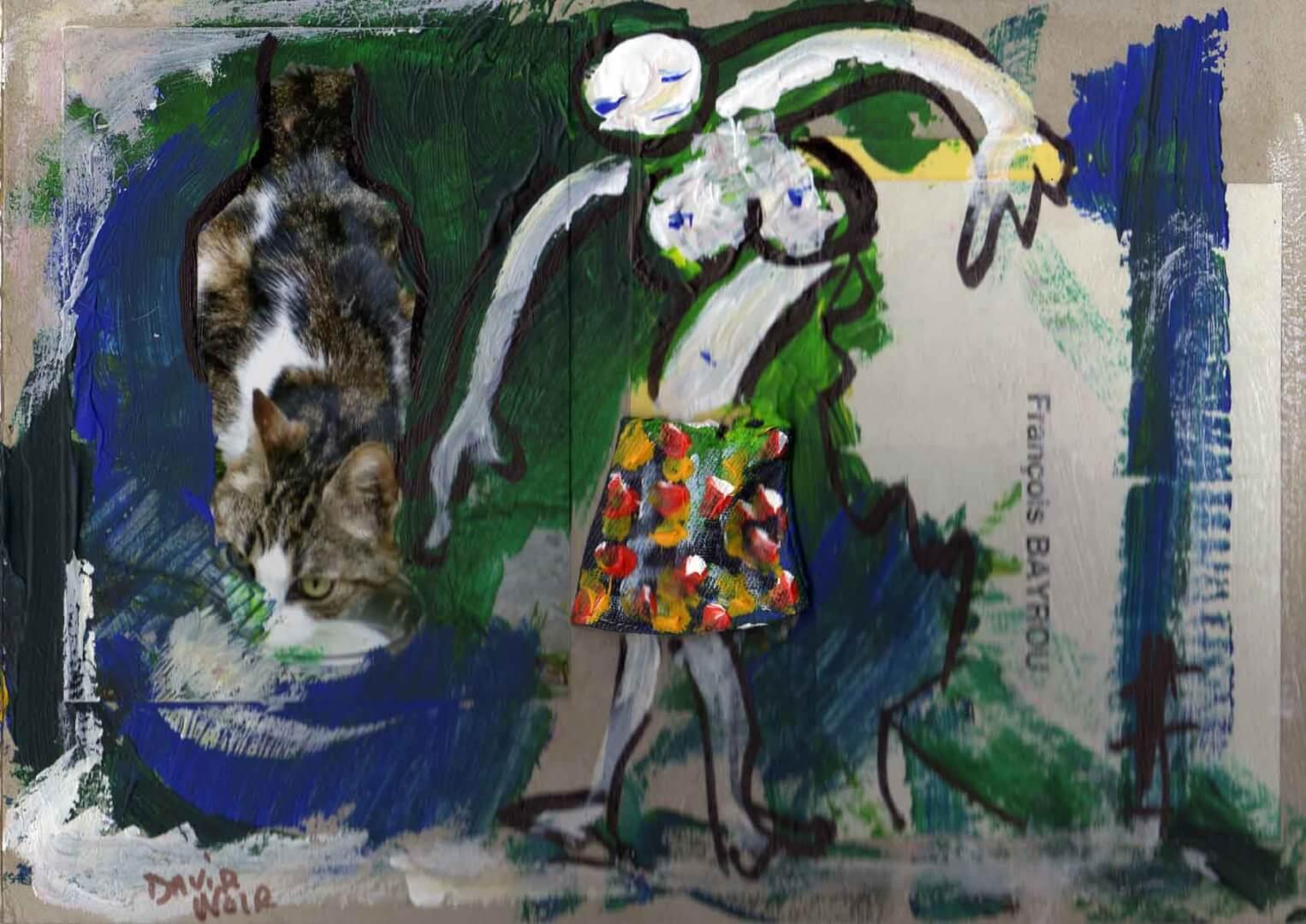 Lolo © David Noir | Dessins, peintures, collages