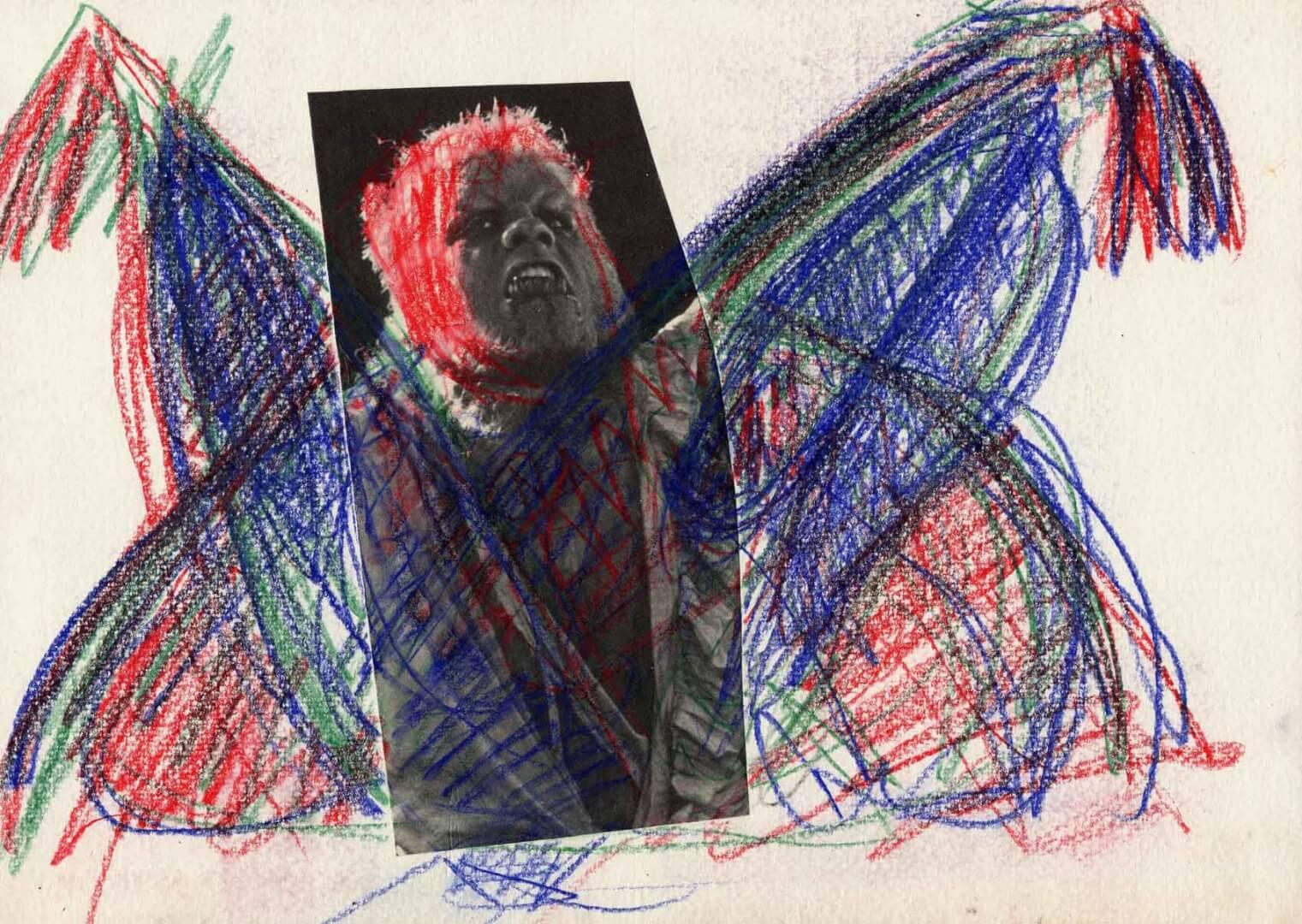 Lon Chaney © David Noir | Dessins, peintures, collages