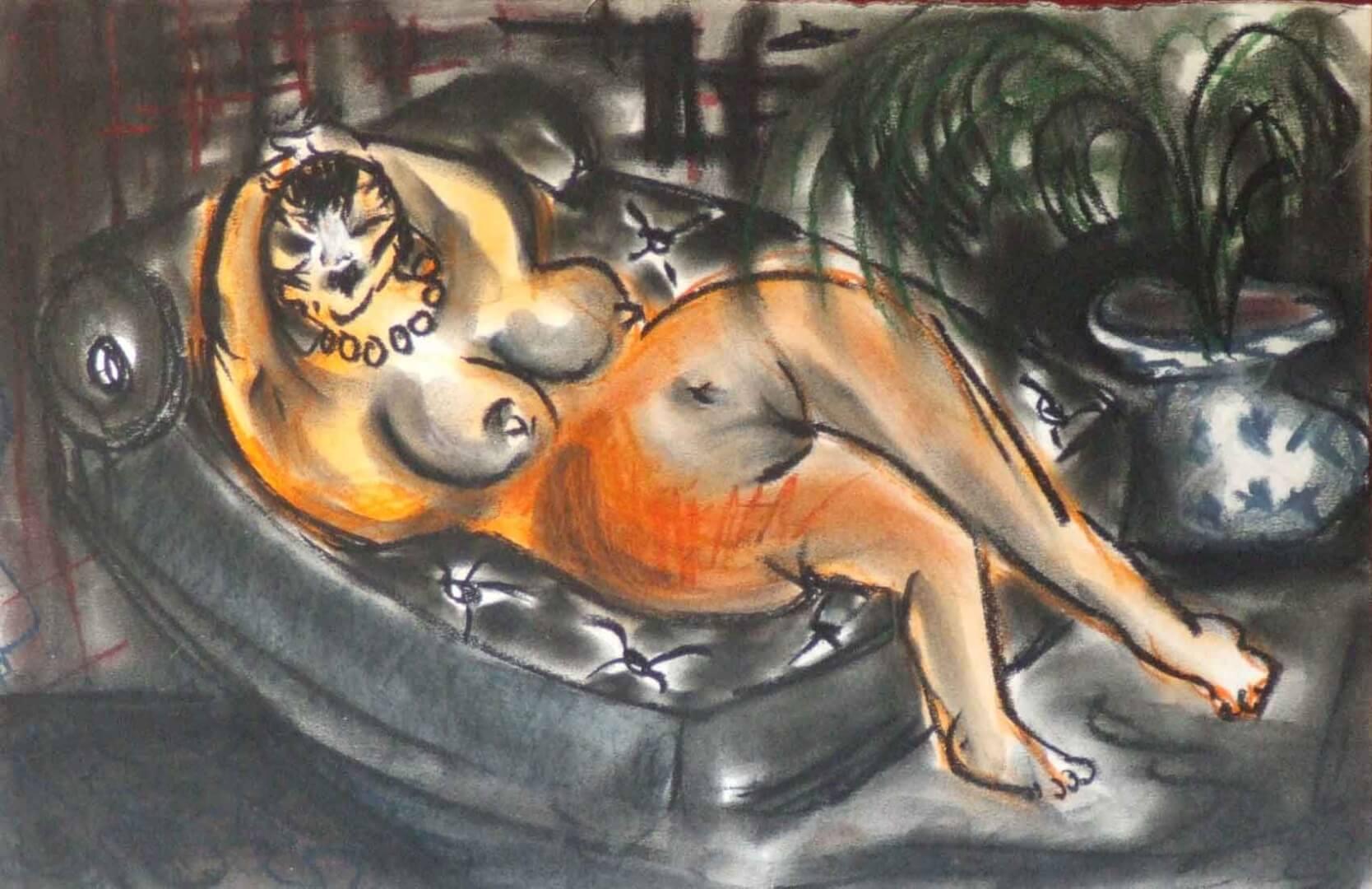Maria © David Noir | Dessins, peintures, collages