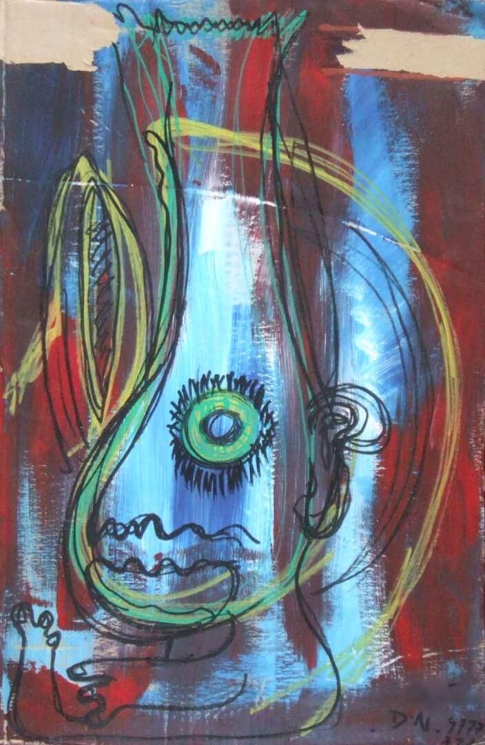 Miguel © David Noir | Dessins, peintures, collages