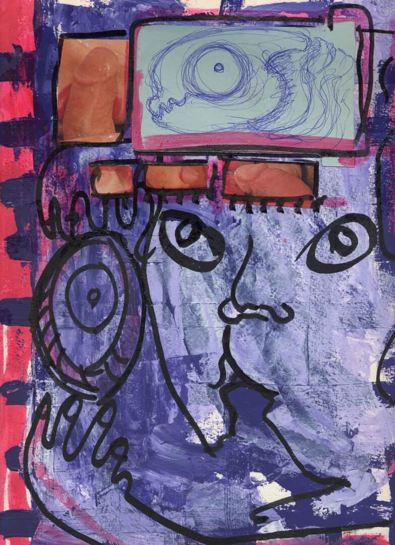 Moche comme tout © David Noir | Dessins, peintures, collages