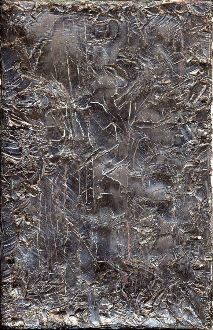 Monochrome et relief © David Noir | Dessins, peintures, collages