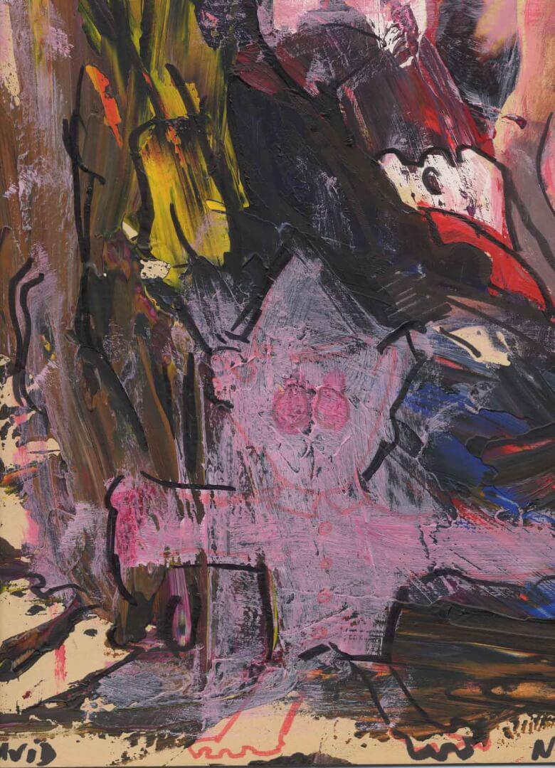 Pardon © David Noir | Dessins, peintures, collages