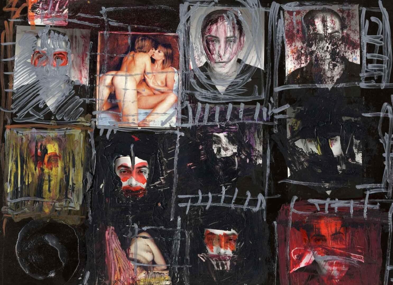 Pellicule © David Noir | Dessins, peintures, collages